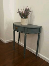 black and gray wooden side table Mississauga