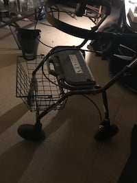 Brand New Walker With Wheels/ Basket/Seat