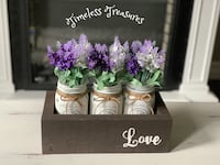 Mason Jar Centerpiece