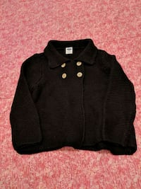 Girl 12-18m sweater - washed never worn  Surrey, V3W 5S2