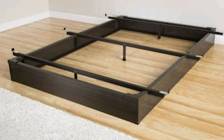 Full size bed frame (NEW in box)