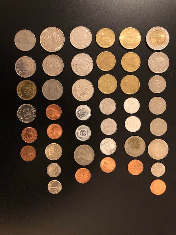 43 Asian Coins for Collectors 16 Malaysia 05 Thailand  08 China 08 Indonesia 06 South Korea