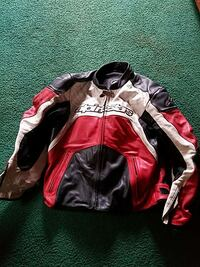 white, red, and black Alpinestar racing jacket Silverdale, 98383
