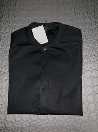 ASOS skinny shirt with baseball collar. Size large. 57 km
