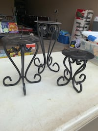 3 tier candle holders