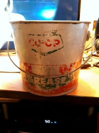 Vintage co-op grease pail  Edmonton, T5S 2B4