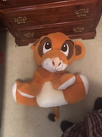 Brown and white bear plush toy Fort Worth, 76123