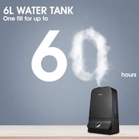 Ultrasonic Cool Mist Humidifier with 6L Water Tank