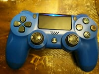 blue and black Sony PS4 DualShock 4 Chesterfield, 23832