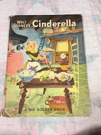 Old Cinderella Book