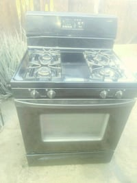 black and gray gas range oven Los Angeles, 91331