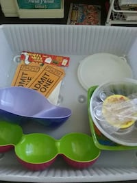 party supplies, serving, punch, dip bowls