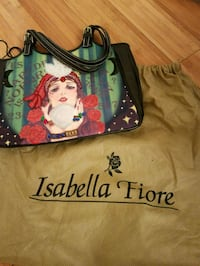 New Isabella Fiore Gypsy Fortune Teller Hangbag