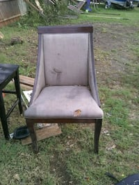 black and brown wooden armchair Oklahoma City, 73109