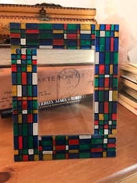"""Made in Italy """"Arte Murano"""" picture frame Laval, H7W"""