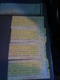 four Elvis tickets