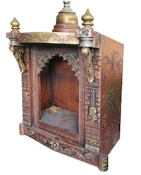 """Temple wooden 2'*1' ht 34"""""""