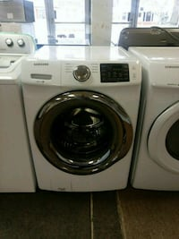 white front-load clothes washer 255 mi
