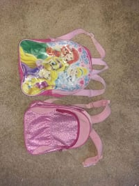 Cute Princess Girls Backpacks. 4$ each Alexandria, 22302