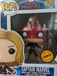 Funko pop Captain Marvel limited chase edition New York, 31709