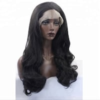 Women's black hair wig 29 km