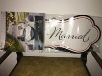 Just married sign for car Boonville, 47601