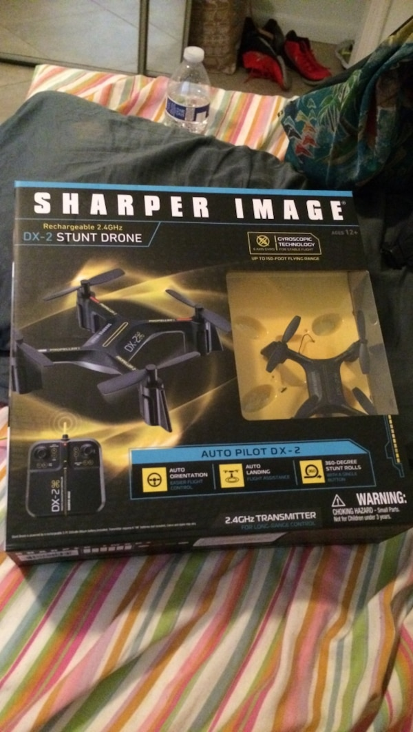 Used Sharper Image Dx 2 Stunt Drone For Sale In Loxahatchee Letgo