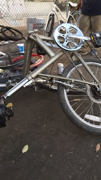 Black and white hardtail mountain bike Los Angeles, 91405