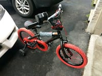 toddler's black and red bicycle Waterloo Regional Municipality