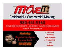 Professional Moving & Handyman Services
