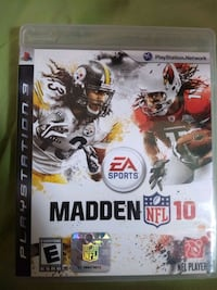 PS3 Game Madden NFL 10 - $3 Alexandria, 22306