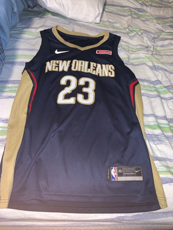 Anthony Davis New Orleans pelicans jersey
