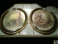 2 vintage Oval.Picture Frames Good condition San Juan, 78589