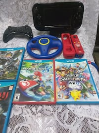 Wii U with games Endicott, 13760