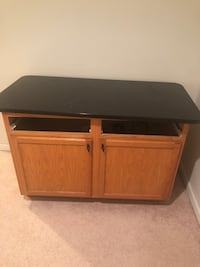 Kitchen island with granite counter too