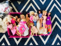 Barbies Galore, Storage Case and Clothes  Annapolis, 21402