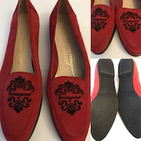 Authentic Women's Salvatore Ferragamo flats