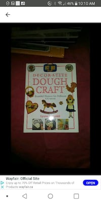Dough craft book Laval, H7M 4A2