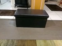 brown faux leather ottoman with storage Fort Myers, 33905