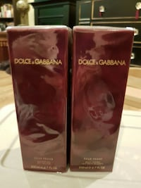 New Dolce & Gabbana shower gel and body lotion Coquitlam, V3J 2M9