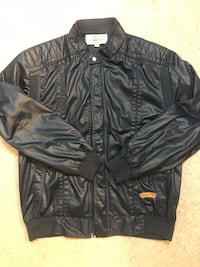 Synthetic Leather jacket.,  Vancouver, V5R 6C1