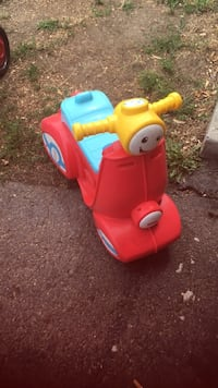 toddler's red and blue ride-on ar toy Central Okanagan, V4T 1H7
