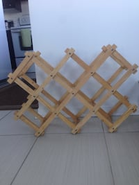 Collapsible wooden wine rack Montréal, H4G 2H9