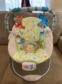 baby's white and green bouncer Alexandria, 22315