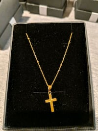 18k solid gold necklace St. Albert, T8N 5X2