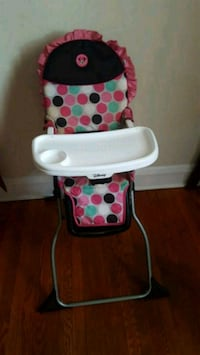 baby's white and red high chair Baltimore, 21215