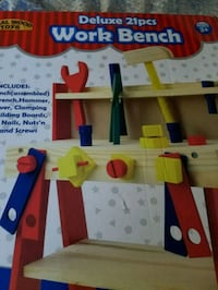 Kids 21 pieces work bench Woodlawn, 21244