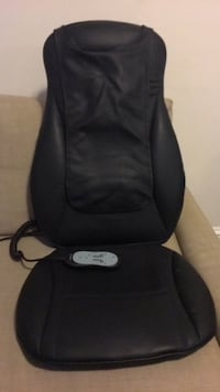 Brookstone INeed Shiatsu Seat Topper with Heat  Washington, 20036