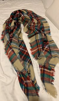Plaid Blanket Scarf Vaughan, L4H