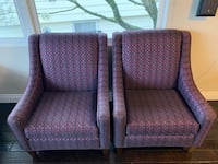 Two beautiful chairs 250 obo North Vancouver, V7N 1E2